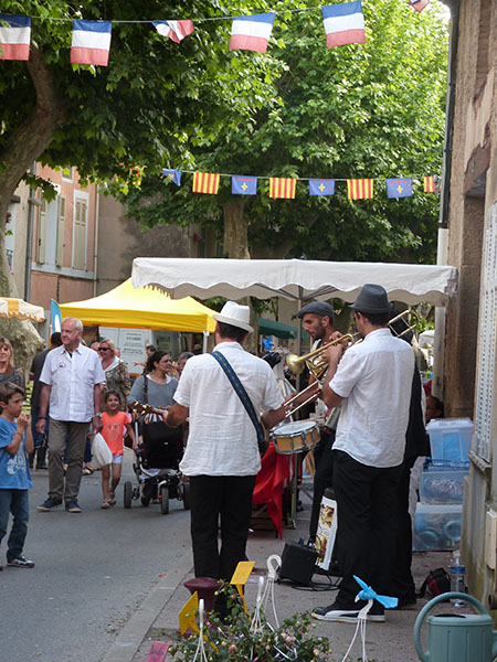musiciens à Gareoult
