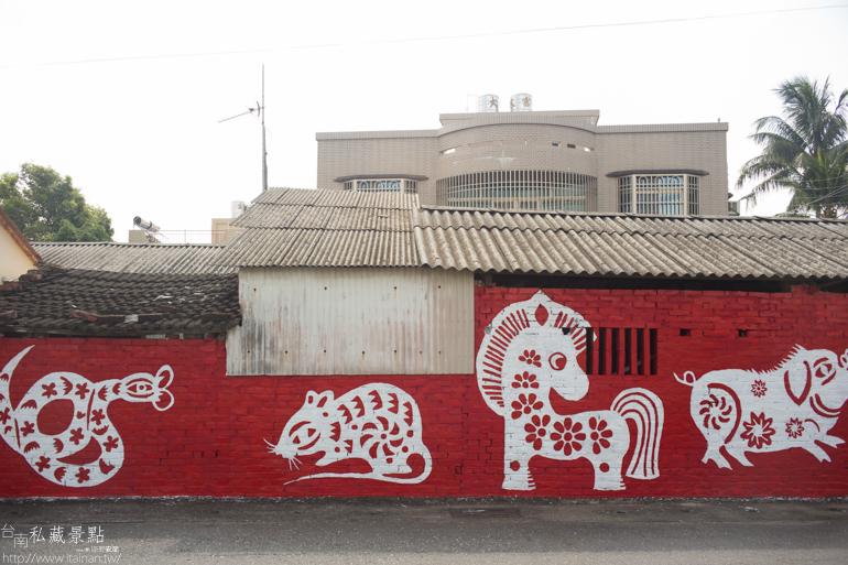 台南私藏景點--善化胡家里彩繪社區 (6)