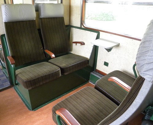 Rälsbuss interior