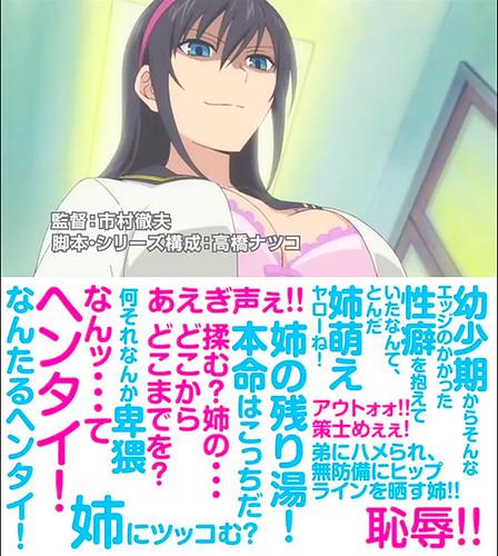 140630(2) - 漫畫家「田口ケンジ」姊戀弟搞笑作《姉ログ》將在9/18改編OVA動畫、聲優&預告片公開! 2 FINAL