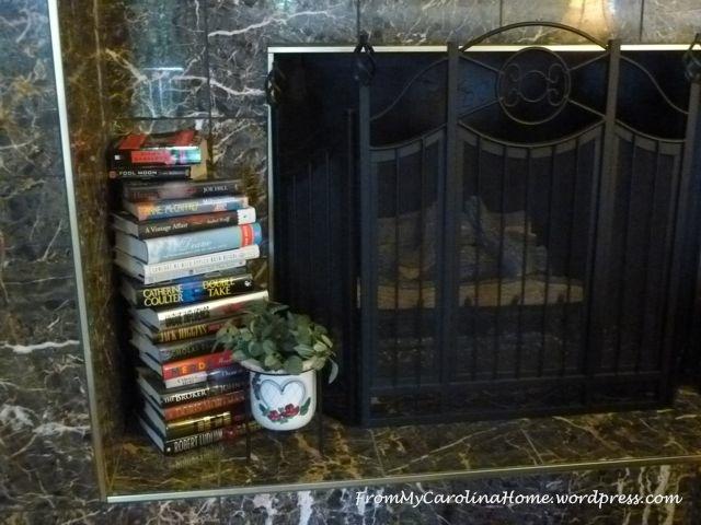 fireplace books