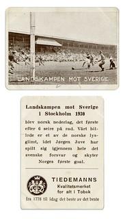 Landskampen mot Sverige i Stockholm (1930)