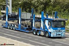 Mercedes-Benz Actros 6x2 Car Transporter - S5 ECM - ECM - M1 J10 Luton - Steven Gray - IMG_0701