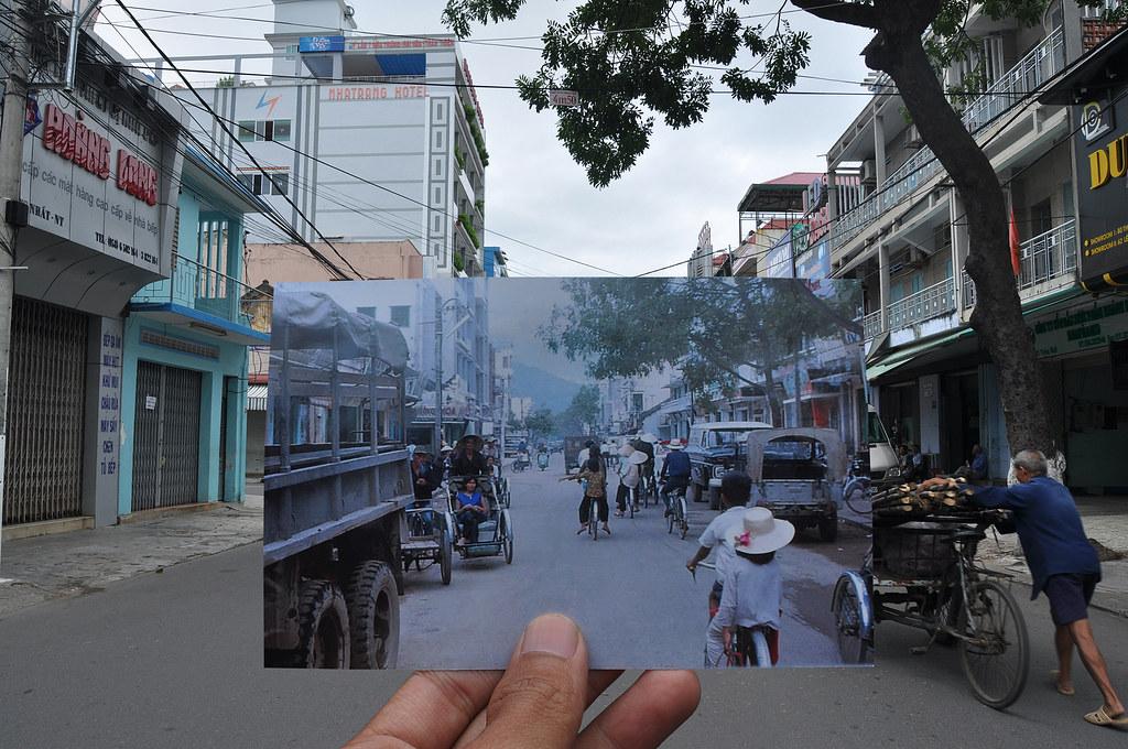 Ngã ba Thống Nhất-Yết Kiêu, Nha Trang năm 1967/68