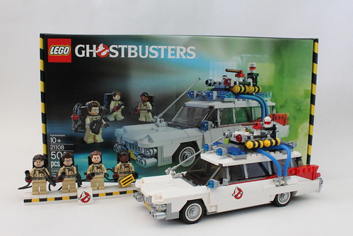 LEGO Ideas Ghostbusters Ecto-1 (21108) Giveaway