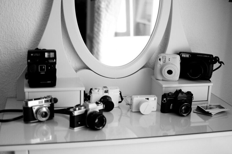 Bunch of cameras