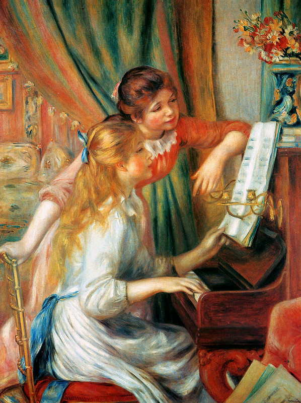 Girls at the Piano by Pierre Auguste Renoir, 1892