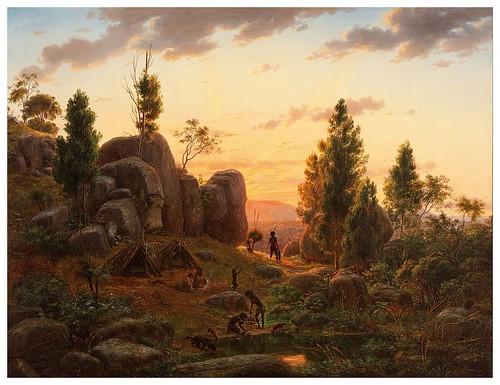 007- Stony Rises- Lago Corangamite-1857- Eugen von Guerard- Google Art Proyect