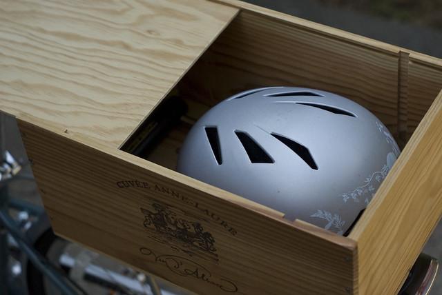 Old Wine Box Bike Trunk