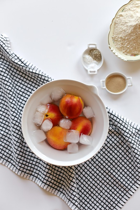 Peach Cobbler Cinnamon Rolls