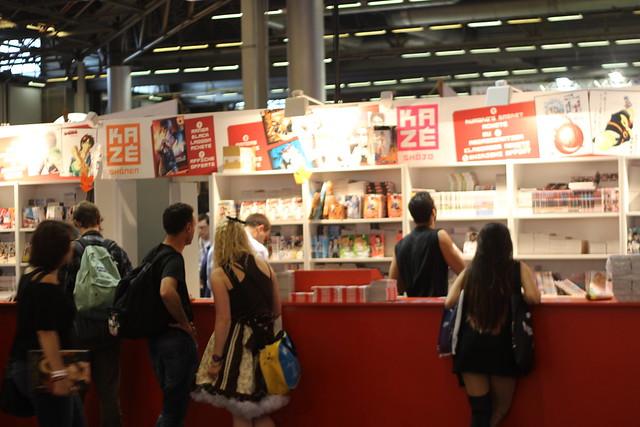 Stand Kazé à Japan Expo 2014