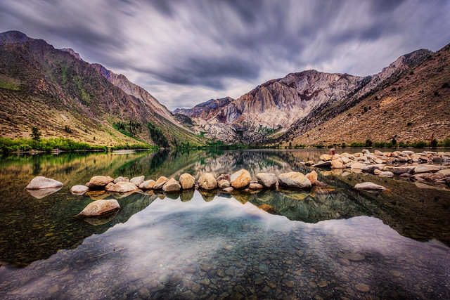 Eerie Skies Over Convict Lake