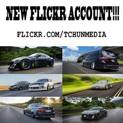 CHANGED FLICKR ACCOUNT TO TCHUMEDIA