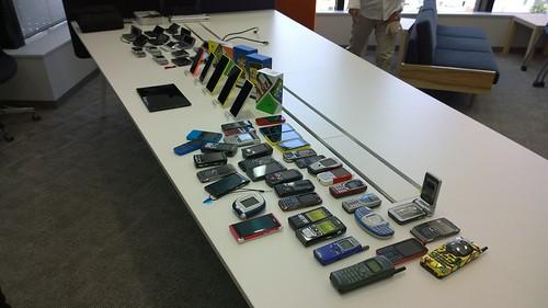 Nokia con in Japan 2014 タッチアンドトライ端末充実!
