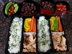 Bento boxes for August 1, 2014