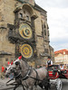 Horse carriage at Astronomical Clock