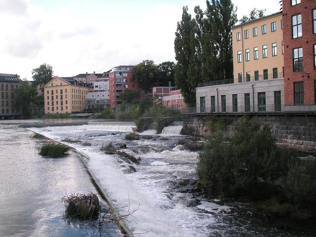 university field trip, day 1, norrköping-linköping