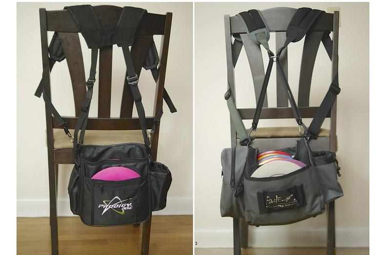 Back Straps Alternatives And Small Bag Hacks Thread Disc Golf