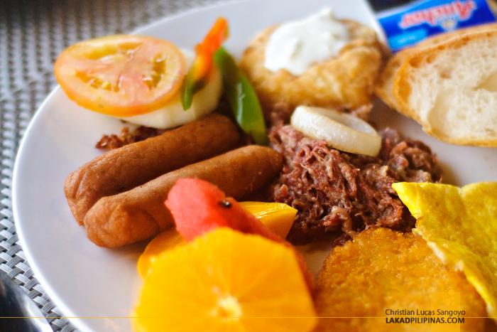 Buffet Breakfast at Bohol Beach Club in Panglao