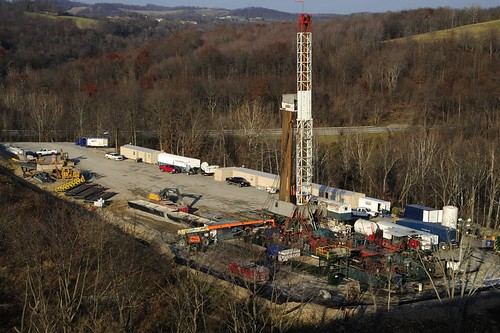 Gas drilling and coal, southwest, Pa., Nov. 2010 084