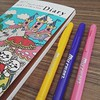 สีปากกาที่ชอบ // มาเป็นสีตัวละครเลย (หัวเราะ)  My favorite color pen :sparkling_heart: #color #pen #diary #chicaumino #favorite #3gatsunolion