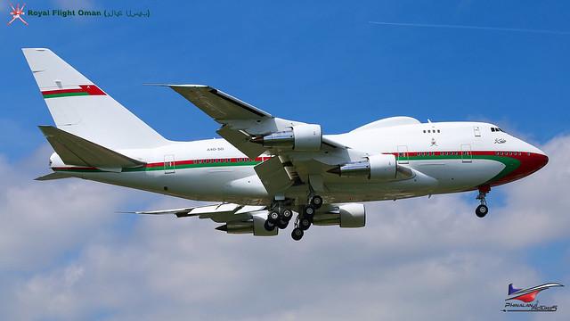 A40-SO  / Oman Royal Flight Boeing / 747SP-27