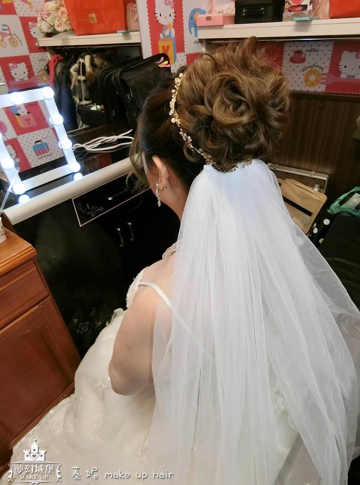 【新秘蓁妮】bride又嘉 結婚造型 / 東山江屋婚宴會館