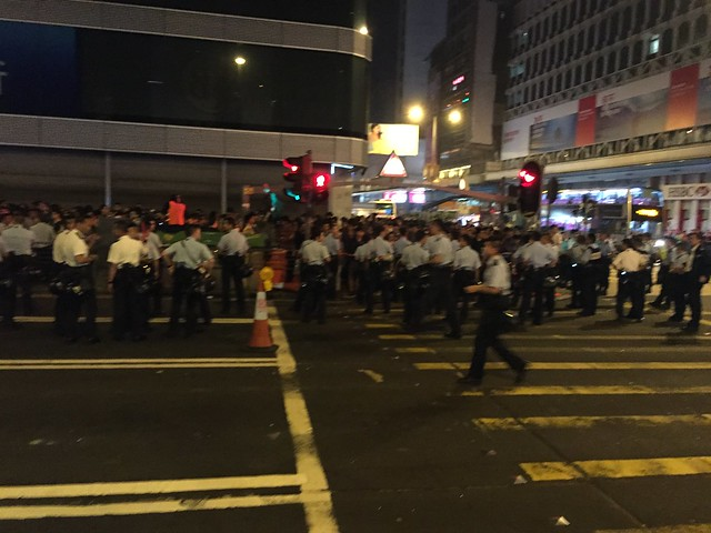 Mong Kok Demonstrations 2014