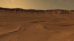 Western Rim of Palikir Crater