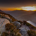 Sunset from slieve Binnian over silent valley by Neil Gibson1975