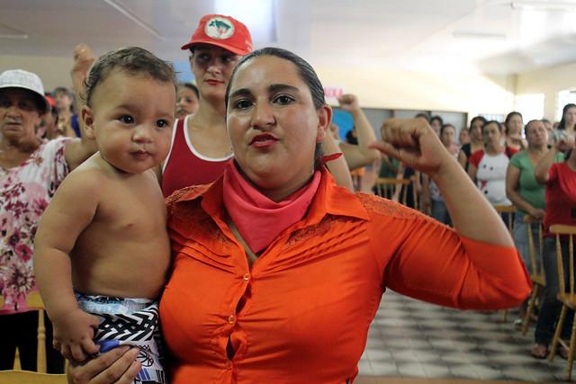 Mulheres iniciam jornada em solidariedade a presa política do MST no Paraná