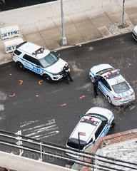 NYPD Police Patrol Cars, The Bronx, New York City