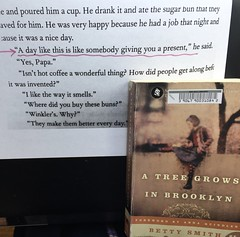 Favorite Quote:A Tree Grows in Brooklyn