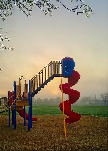 playground school kingsburg davemeyer sun sunrise