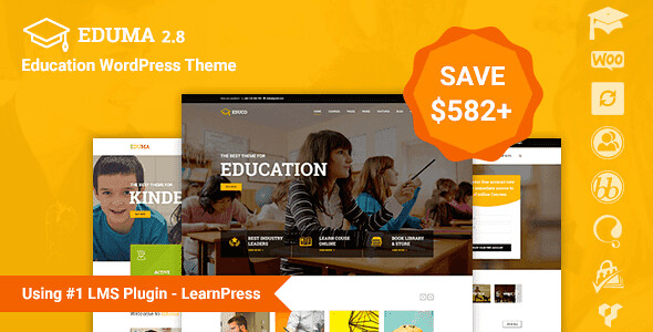 Eduma WordPress Theme free download