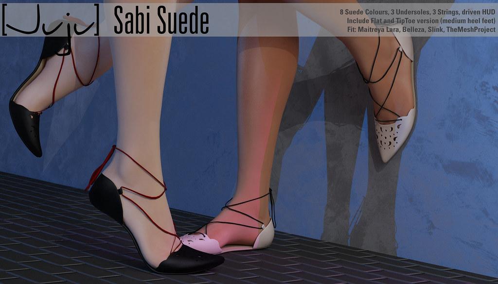 [Juju] Sabi (suede) for Shoetopia - SecondLifeHub.com