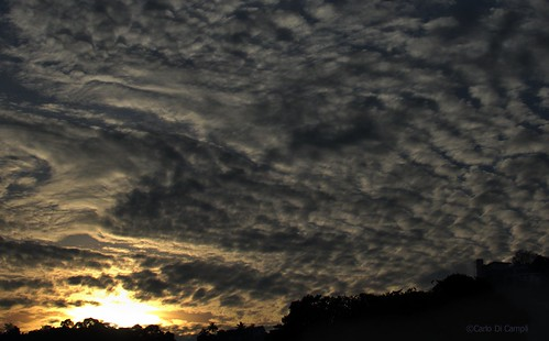 tramonto sunset kandy srylanka cielo sky clouds nuvole sun panorama landscape nikond7000