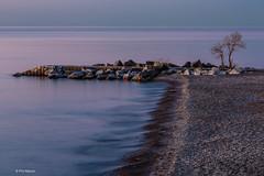 Pre-dawn over Lake Ontario
