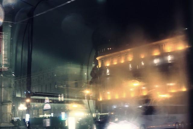 A cold rainy night