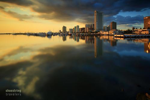 manilabay sunset philippines clouds sun sky water waterscape sea seascape seaside shore coast landscape outdoor