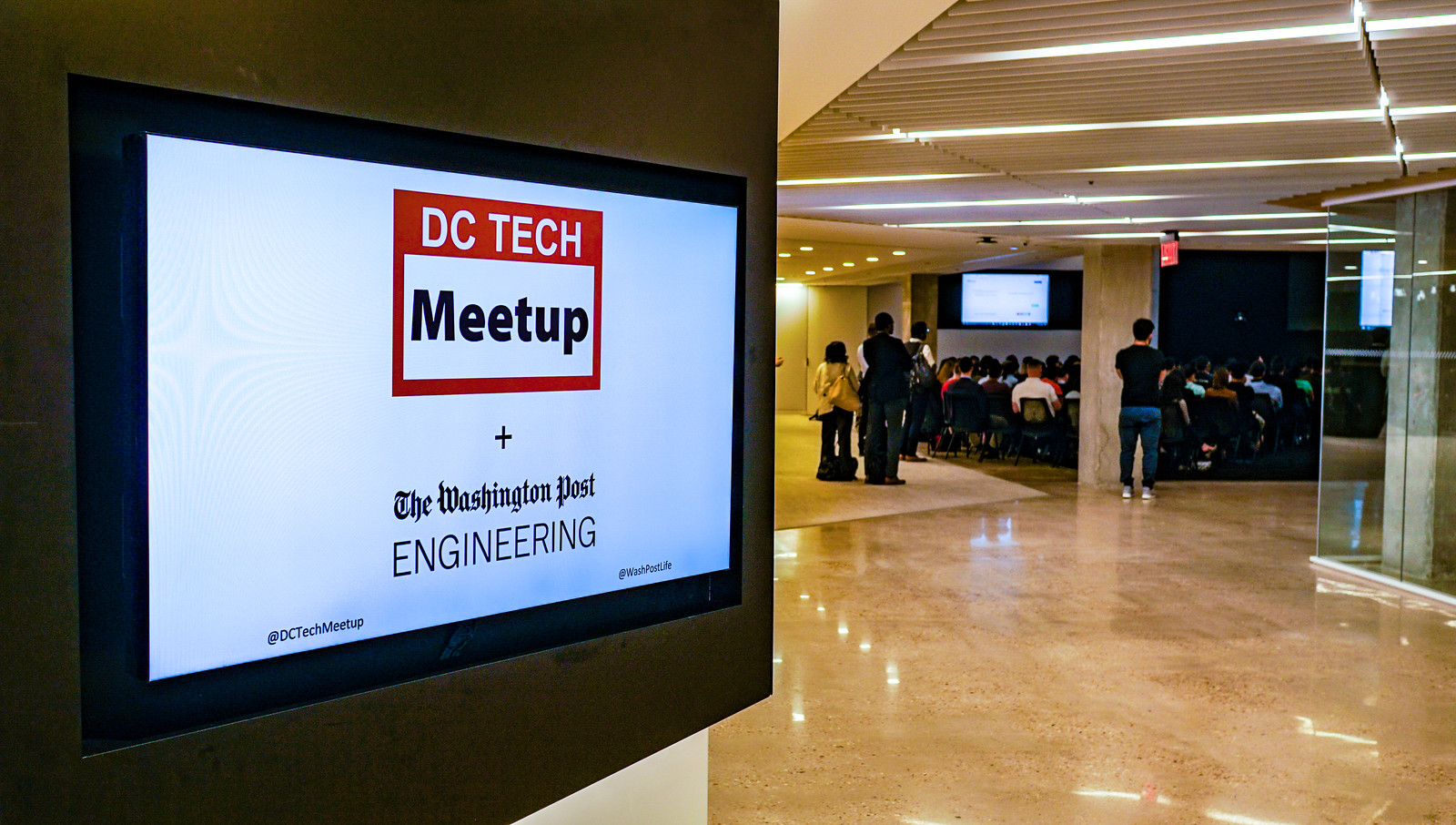 What I Learned at DC Tech Meetup
