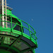 Lighthouse with moon by Ostseeleuchte