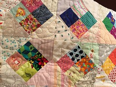 Everything went into this quilt