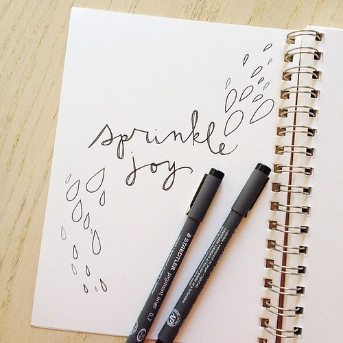 Sprinkle joy! :) #dailydoodle