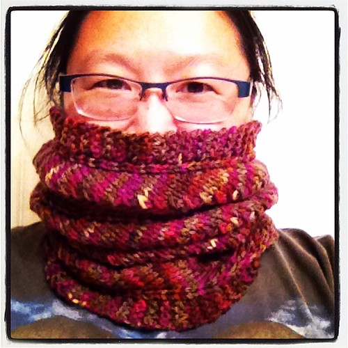 Just in time for the blast furnace weather. A new cowl #perfecttiming :P