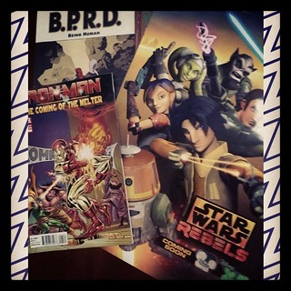 Happy Free Comic Book Day (FCBD)!!! Thank u Kinokuniya  for the free comic & Star Wars Rebels poster... #geekshavethemostfun #freecomicbookday