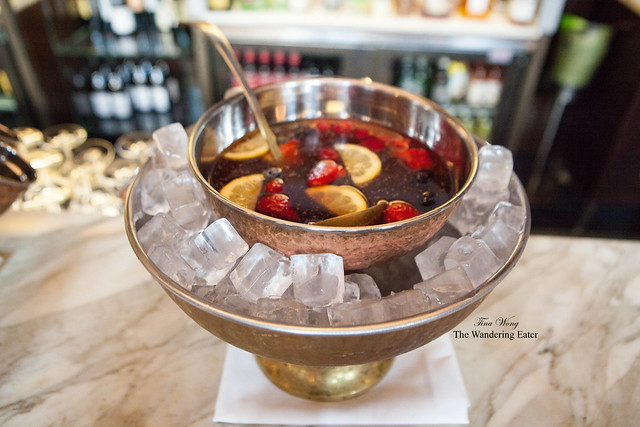Garrick Club Punch Bowl