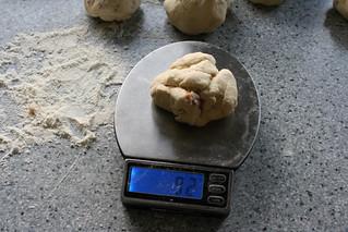 Pan Estrella relleno de camembert.