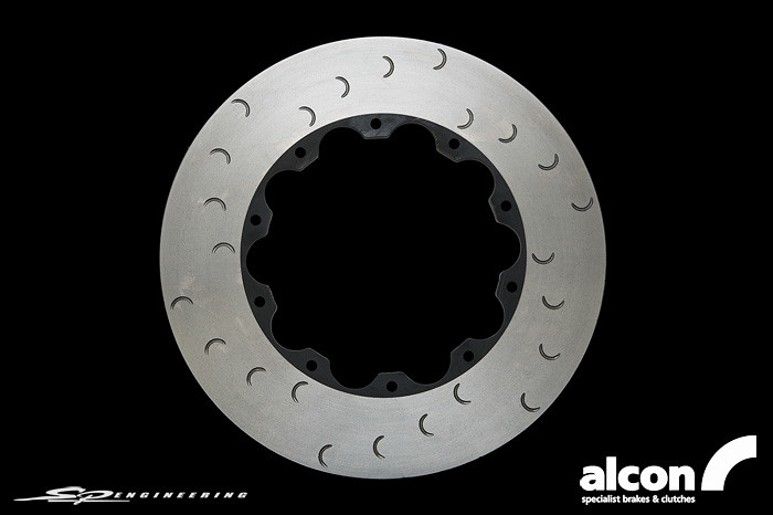 Alcon 390mm Front Rotor // 2012+ Nissan GT-R