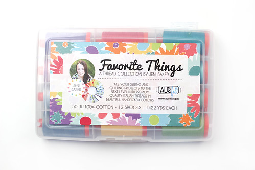 Favorite Things Aurifil Thread Collection